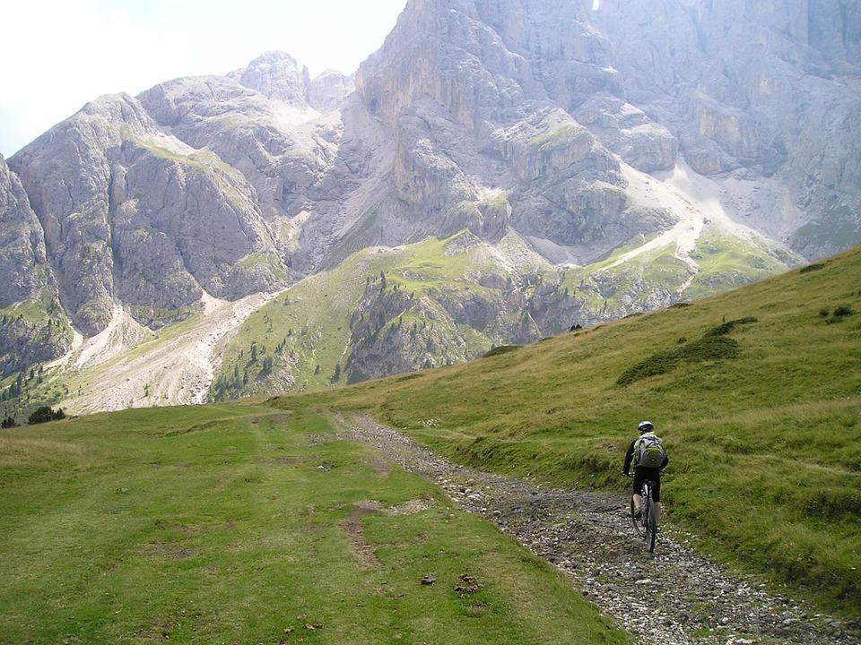 bike in montagna