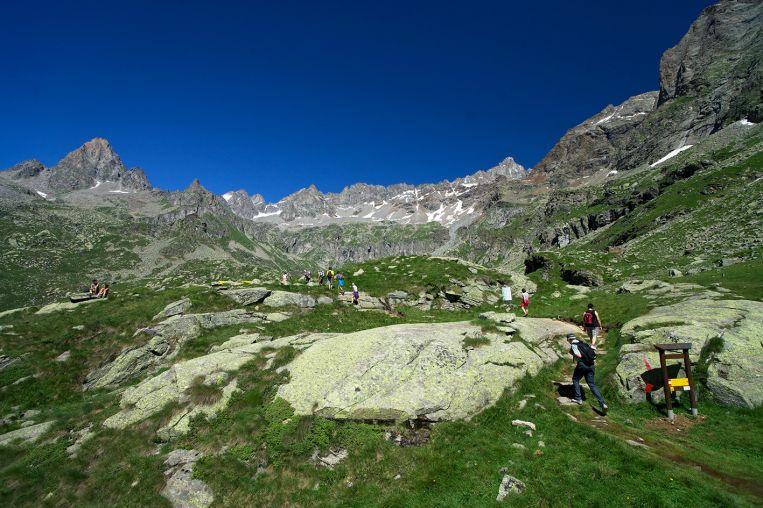 parco nazionale gran paradiso cammino